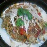 てらじま亭 - 中華麺のペペロンチーノ