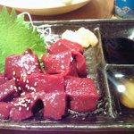 yakinikubenkei - レバー刺身