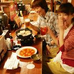 上野市場 - カウンター、テーブルお好みのお席でリッラックス!