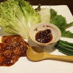 地球屋 住吉本店 - 料理写真:チャガルチ市場のお刺身