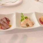レストランアンド - 夏のアミューズ3種
