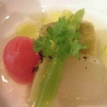 レストランアンド - 夏野菜の冷製