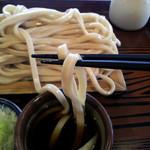 鷹 - 武蔵野うどんの名店「手打ちうどん鷹」もりの麺[2015.08]