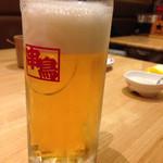 串鳥 - 生ビール360円