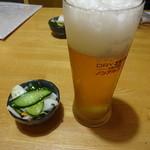 呑食里 - 2015/8/21金 キリンノンアルビール420円