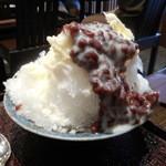西山 - 氷あずき+練乳