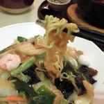 中国料理 珍満 - 麺は良好です