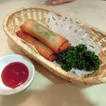 中国料理 珍満 - 春巻き486円
