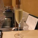 はせ川 - Champagne Henriot Blanc de Blancs (2015/08)