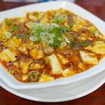 味苑 - 麻婆豆腐(780円)