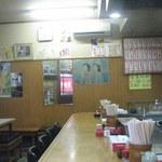 キコク食堂 - カウンター席