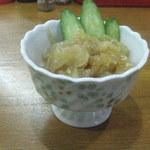 キコク食堂 - 中華クラゲ