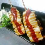 焼鳥ジロー - 不動の人気チーズ串カツ