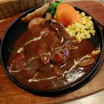 """洋食屋 せんごく - """"煮込みハンバーグ"""""""