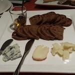 ラ メーラ - チーズ盛り合わせ