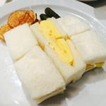セントル ザ・ベーカリー - オムレツサンドイッチ