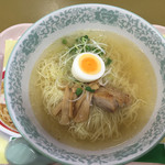 林泉堂 - 秋田比内地鶏ラーメン¥700
