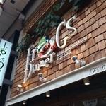 フロッグスダイナー - 元町通り商店街1丁目の、カジュアルレストランです