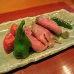 日本料理 紀伸 - 料理写真:味噌漬けローストビーフ