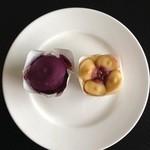 フェスティバロ - フェスティバロの和風菓「からいも」シリーズ      (左)なな紫 (右)はるか           焼菓子なので1週間ほど常温保存可能