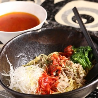 鶏トマトつけ麺