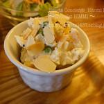 カフェ エストレア - ワッフルランチ サラダ