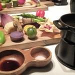 41321182 - 千葉県八街産野菜のバーニャカウダ