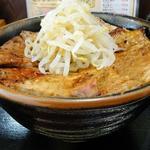 41321967 - 特製ロース丼 並(横から)