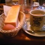 コメダ珈琲店 - モーニング・カフェオーレ