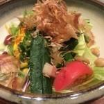 Washokusato - 野菜たっぷりのサラダ