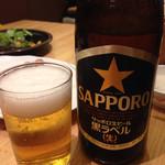 串鳥 - 瓶ビール450円
