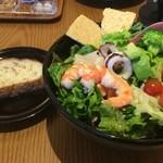 chano-ma - 海の幸とトマトのサラダランチ