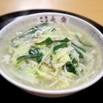 中華料理 永楽 - 料理写真:タンメン