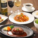 レストラン デルパパ ピゥ - 100%神戸ビーフハンバーグステーキ