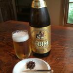 竹やぶ - 瓶ビール(710円)
