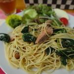パピコ - 料理写真:パスタランチ ¥550