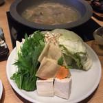 博多華味鳥 - 水炊きの野菜