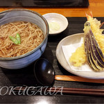 旬 - 料理写真:天ぷらそば