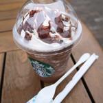 スターバックス・コーヒー - 料理写真:ダークモカチップフラペチーノ(Tall)¥490