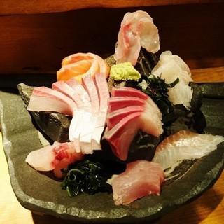 市場直送の超新鮮な魚たち