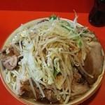 ラーメン二郎 - 大豚ダブル 1000円