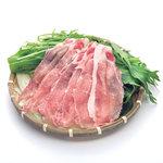 おいどん - 料理写真:アベル黒豚ロース肉しゃぶしゃぶセット 1400円