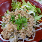 麺恋亭 - そぼろご飯