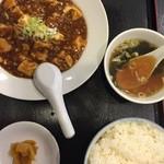 41332178 - 麻婆豆腐+ライス