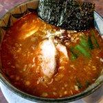 花キッチン - 金ごまタンタン麺(モモチャーシュー)!(2015,08/22)