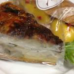 メゾン・カイザー・ショップ - キッシュプロヴァンサル(380円)と豚のパテとマンゴーのサンド(510円)