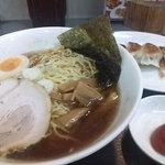 天龍 - ラーメン+餃子