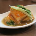 久米川  絹 - 蟹真薯蟹味噌餡かけ