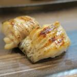 久米川  絹 - グジ出汁焼き アップ