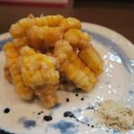 久米川  絹 - 玉蜀黍天麩羅